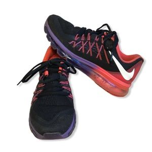 Nike Air Max 2015 Black Hyper Punch Grape 8.5 $180